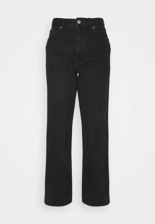 TAIKI - Jeans straight leg - black dark