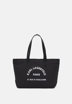 BASKET - Tote bag - black