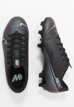 MERCURIAL JR VAPOR 13 ACADEMY FG/MG UNISEX - Moulded stud football boots - black