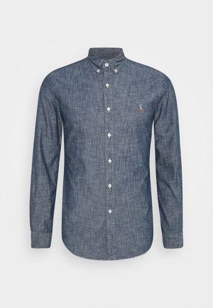 CHAMBRAY SLBDPPCS - Shirt - dark indigo