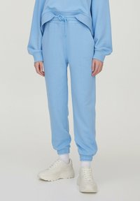 PULL&BEAR - Tracksuit bottoms - blue - 0