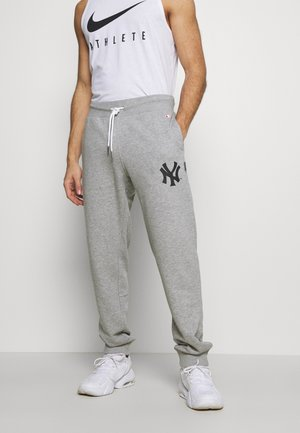 MLB NEW YORK YANKEES CUFF PANTS - Klubbkläder - grey melange