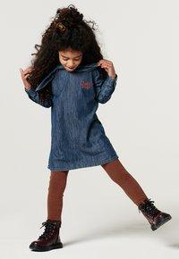 Noppies - Denim dress - medium blue denim - 0