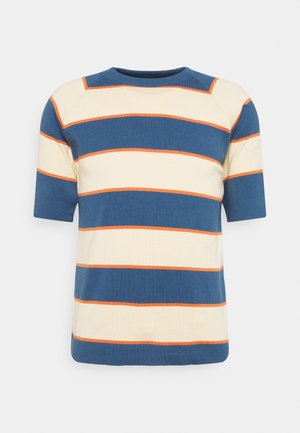 NEWPORT  - T-shirt con stampa - ensign blue/arabesque