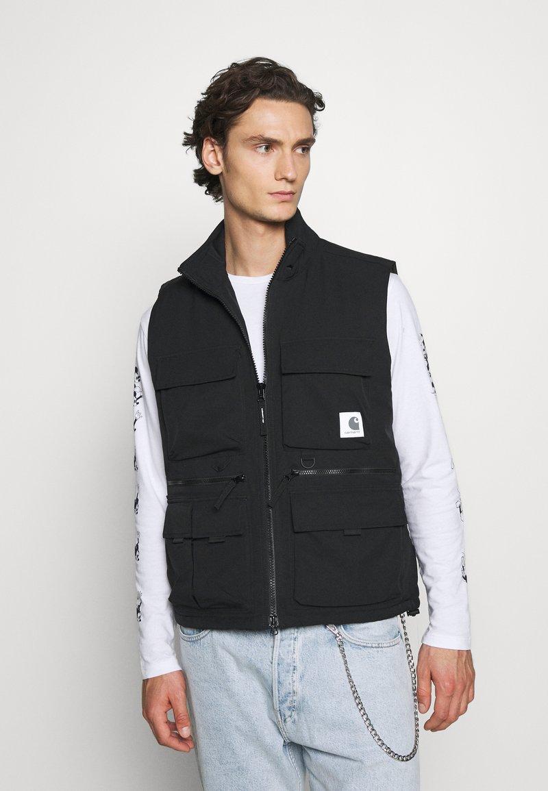 Carhartt WIP - COLEWOOD VEST - Waistcoat - black