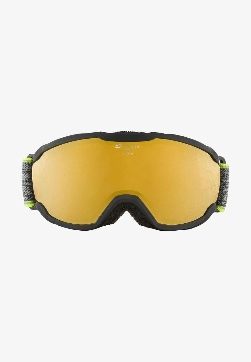 Alpina - PHEOS JR. HM - Ski goggles - black-neon yellow