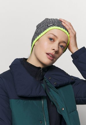 RENE UNISEX - Beanie - light yellow/anthrazit