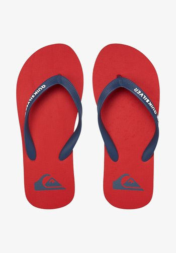 Pool shoes - red/blue/red