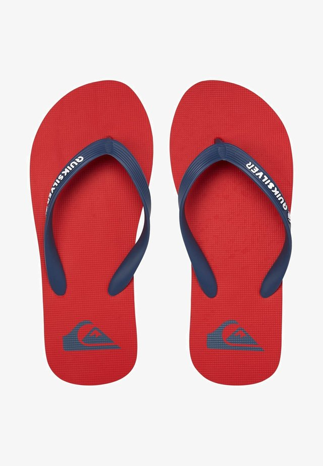 Teenslippers - red/blue/red