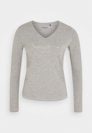 DITA - Long sleeved top - grey marl