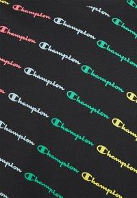 Champion - CREWNECK - T-shirt imprimé - black - 5