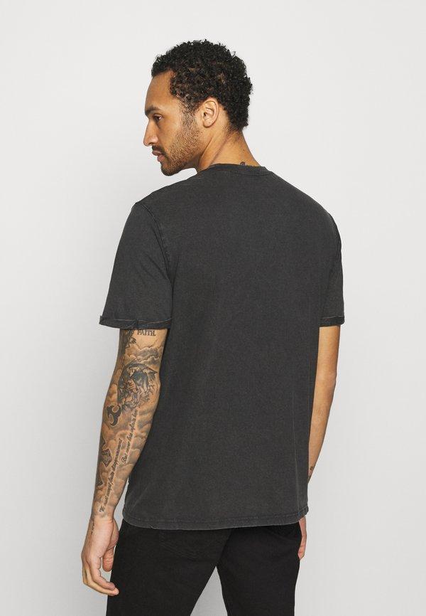 Only & Sons ONSACDC LIFE TEE - T-shirt z nadrukiem - black/czarny Odzież Męska ERYW