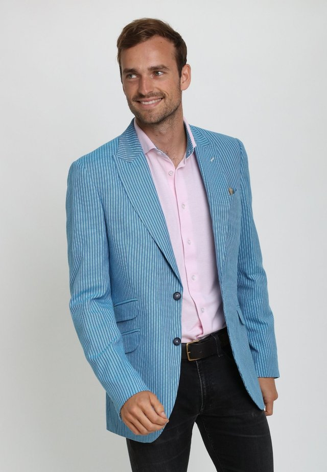 MAWIMBI - Blazer jacket - blue stripe