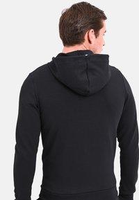 le coq sportif - ESS FZ - Zip-up hoodie - black - 2