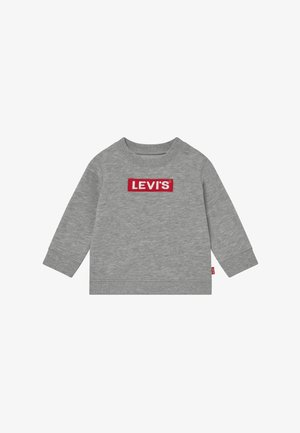 BOX TAB CREWNECK - Sweater - grey heather