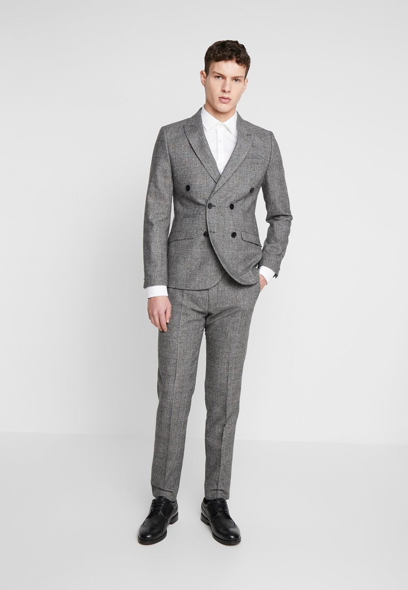 Shelby & Sons - KIRKHAM SUIT DOUBLE BREASTED  - Suit - grey