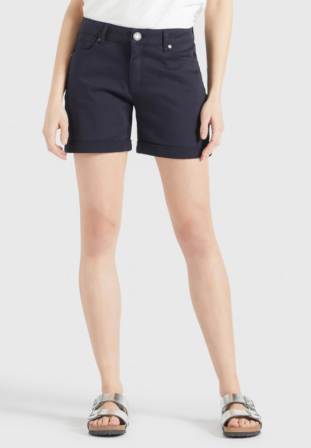 RIVEN - Shorts di jeans - dunkelblau