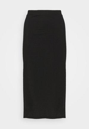 ELSA SKIRT - A-line skjørt - black