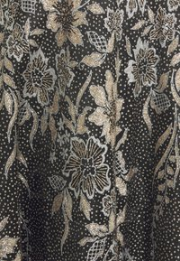 Luxuar Fashion - Ballkjole - schwarz/gold glitzer - 2