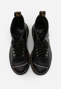 Dr. Martens - 1460 BEX ZIP - Cowboy/biker ankle boot - black smooth - 3
