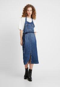Pepe Jeans - DUA LIPA X PEPE JEANS - Denim dress - blue denim - 1