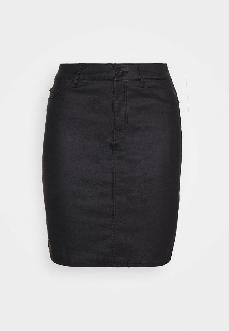 Vero Moda Tall - VMSEVEN SHORT SKIRT - Mini skirt - black