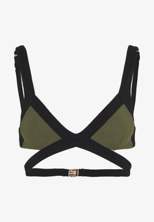 MAZZY - Haut de bikini - black/khaki