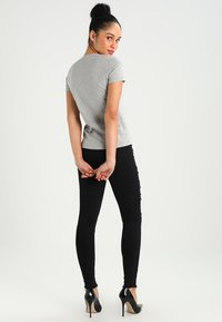 Pepe Jeans - NEW VIRGINIA - T-shirt z nadrukiem - grey marl - 2
