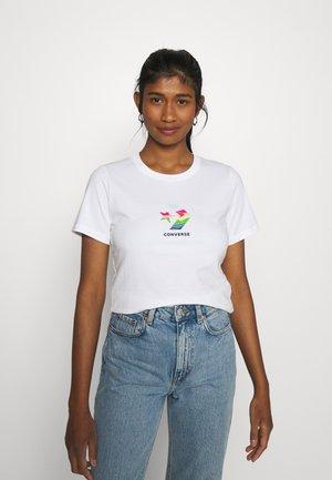SUN FILL GRAPHIC TEE - Camiseta estampada - white