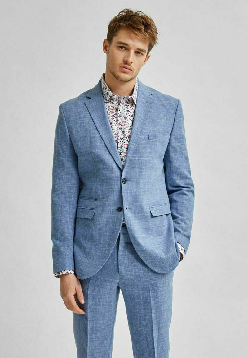 Selected Homme - Giacca elegante - light blue