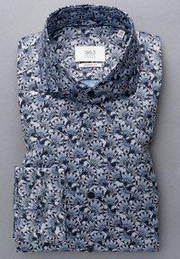 Eterna - MODERN FIT - Shirt - hellblau/marine - 4