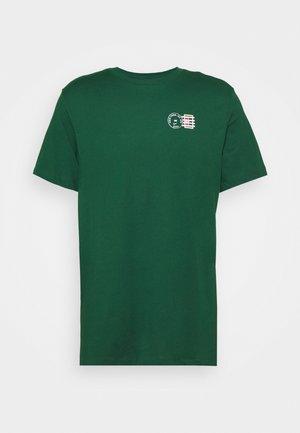 TEE NYC POSTCARD - Print T-shirt - gorge green