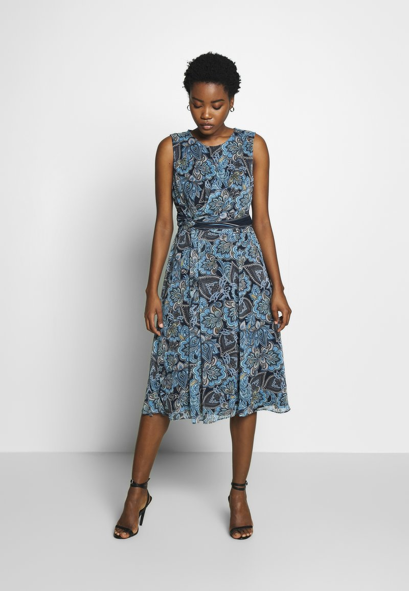 Betty & Co - Day dress - blue-light blue
