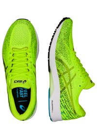 ASICS - GEL-DS TRAINER 26 - Competition running shoes - hazard green/black - 1