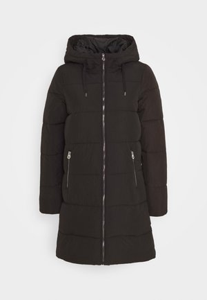 ONLDOLLY LONG PUFFER - Vinterkåpe / -frakk - black