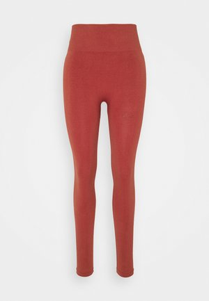 ONPJARI - Leggings - red ochre