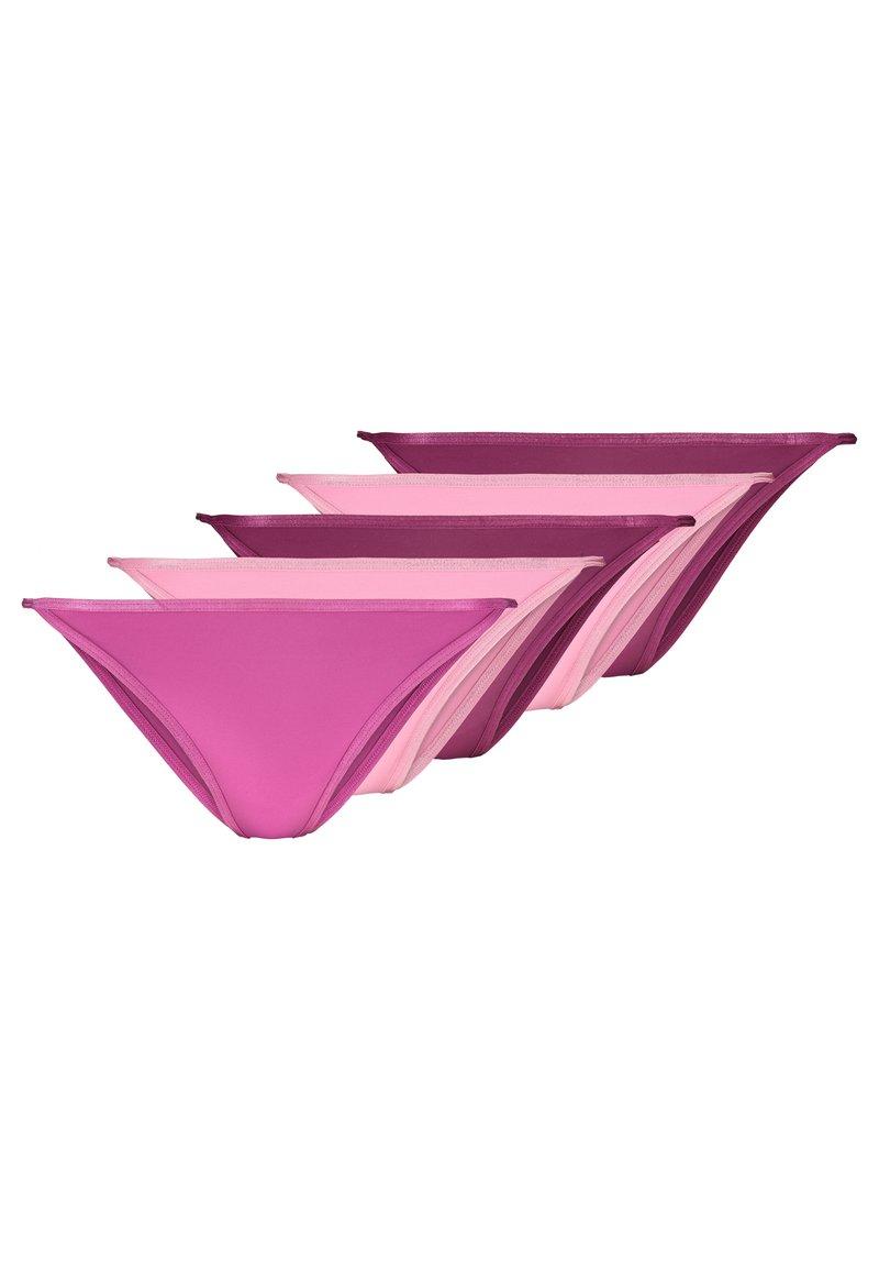 Anna Field - 5 PACK - Underbukse - rose/purple/pink