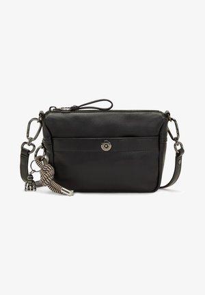 XANDRA  RE++ - Schoudertas - black faux leather