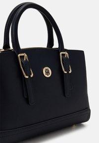 Tommy Hilfiger - HONEY SATCHEL - Handbag - blue - 3