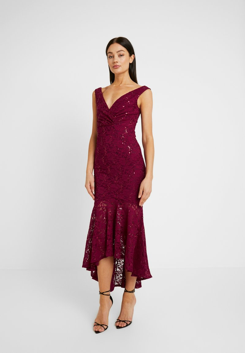 Sista Glam - TYREEN - Festklänning - berry
