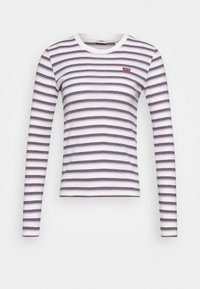 Levi's® - BABY TEE - T-shirt à manches longues - berimbao lavender frost - 4