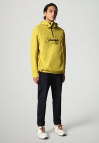 Napapijri - RAINFOREST CIRCULAR - Light jacket - yellow moss - 1
