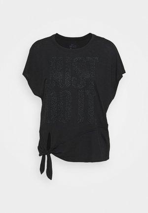 DRY TIE SPRKLE - Print T-shirt - black