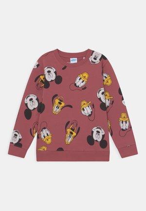 DISNEY MICKEY & FRIENDS KID UNISEX - Sweatshirt - dark terracotta
