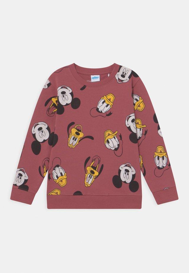 DISNEY MICKEY & FRIENDS KID UNISEX - Sweater - dark terracotta