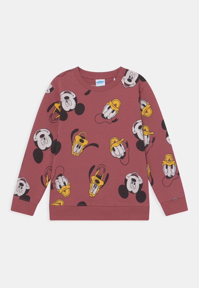 Staccato - DISNEY MICKEY & FRIENDS KID UNISEX - Sweatshirt - dark terracotta