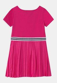 Polo Ralph Lauren - PLEATED DRESSES - Žerzejové šaty - accent pink - 1