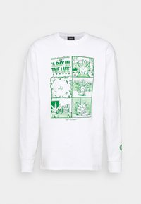 DAY IN THE LIFE TEE - Long sleeved top - white