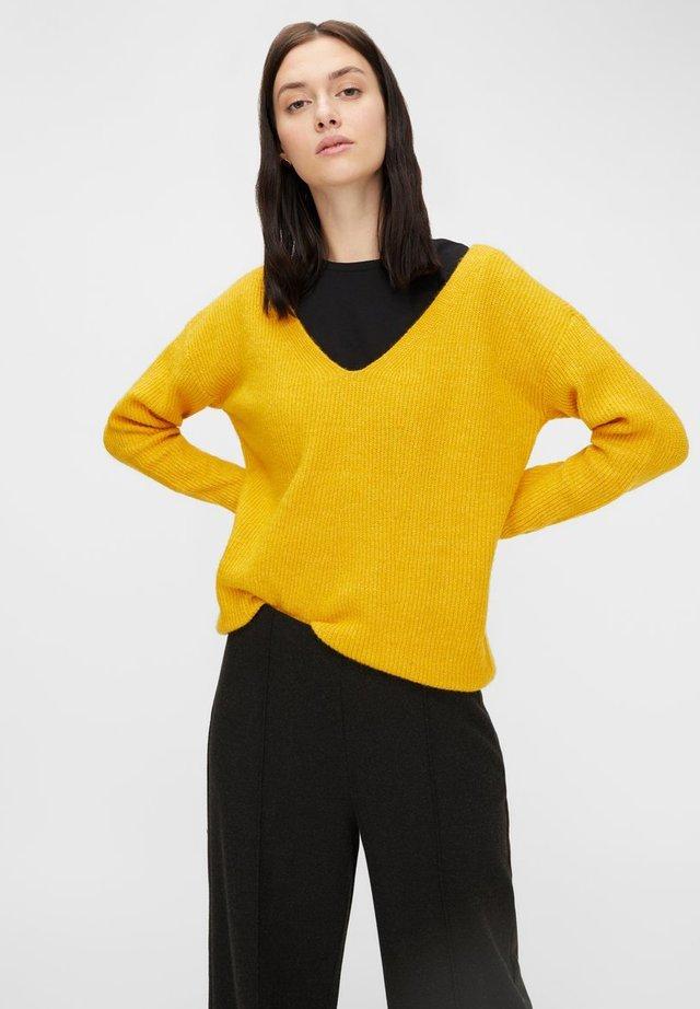PCBABETT  - Sweter - nugget gold
