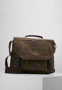 Strellson - HUNTER BRIEFBAG - Laptop bag - dark brown - 0